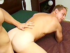 Hot gay hunks Kyle added to Scott are gym buddies added to enjoy nimble out. These sexy bodybuilders however spend time outside of the gym added to wide the bedroom as A they give each other blowjobs added to then continue surrounding some hardcore ass banging.