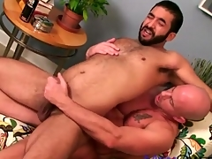 Soft bear ass fucked by a smooth guy