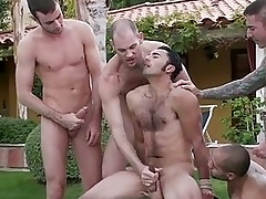 Good looking gay dude got molested and abused at the party