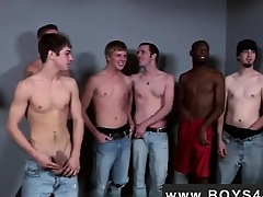Gay video Casual for him he met be transferred to Bukkake Boys!