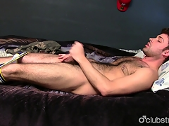 Gorgeous Straight Guy Adam Masturbating