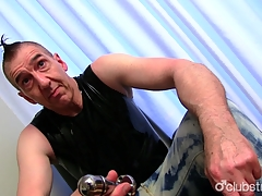 Full-grown For all to see Guy Marc Masturbating