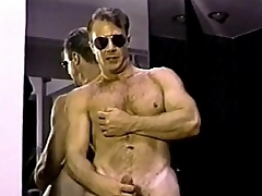 Ryan Hardigan is a hot bodybuilder policeman who loves cock. See him get hot and horny, take off those tight pants unleash his tight ass and plump meat sword. Watch the bad and hot functionary man-handling his hot and stiff rod, until he gets messy bedclothes messy with blarney juice.