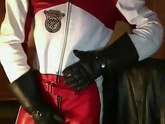 Leather Biker suit Dainese