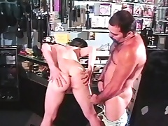 Adorable young twink with a big cock fully enjoys a rough anal fucking